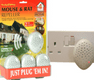 Mouse & Rat Ultrasonic Repeller Plug-ins The Big Cheese 1x Single STV718